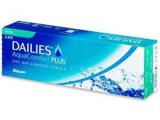 Torické (astigmatické) kontaktní čočky - Dailies AquaComfort Plus Toric (30čoček)