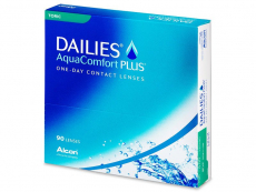 Torické (astigmatické) kontaktní čočky - Dailies AquaComfort Plus Toric (90čoček)