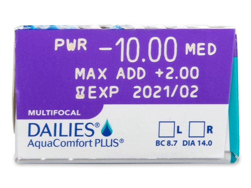 Dailies AquaComfort Plus Multifocal (30čoček) -