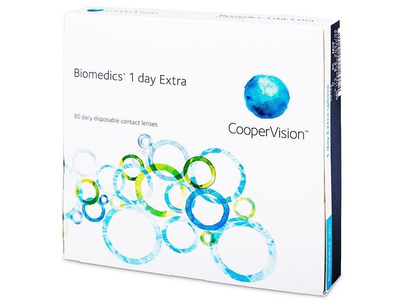 Biomedics 1 Day Extra (90čoček) - Jednodenní kontaktní čočky