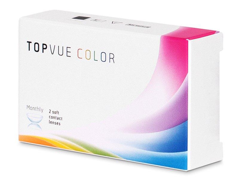 TopVue Color - Honey - dioptrické (2 čočky)