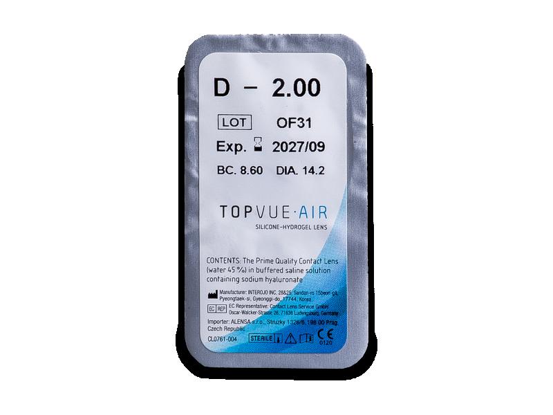 TopVue Air (6 čoček) -