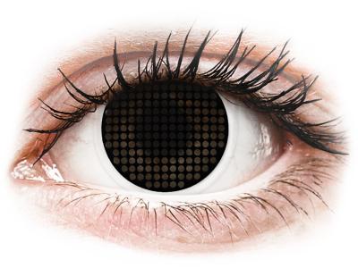 ColourVUE Crazy Lens - Black Screen - nedioptrické (2 čočky)