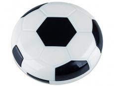 Kazety se zrcátkem - Kazetka Fotbalový míč - černá