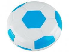 Kazety se zrcátkem - Kazetka Fotbalový míč - modrá