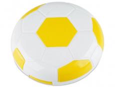Kazety se zrcátkem - Kazetka Fotbalový míč - žlutá