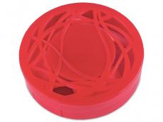 Kazety se zrcátkem - Kazetka s ornamentem - červená