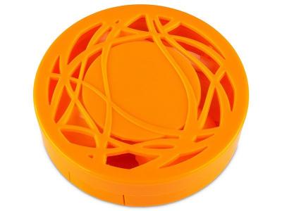 Kazetka s ornamentem - oranžová