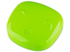 Pouzdra na kontaktní čočky - Kazetka Face - zelená