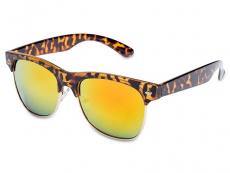 Čtvercové sluneční brýle - Sluneční brýle TigerStyle - Yellow