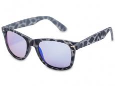 Čtvercové sluneční brýle - Sluneční brýle Stingray - Blue Rubber