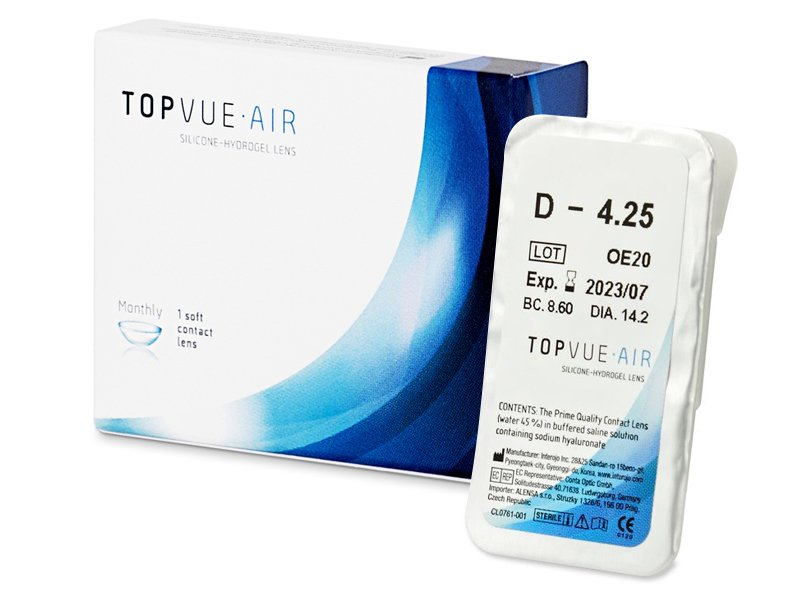 TopVue Air (1 čočka) -