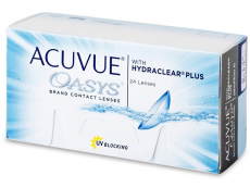 Kontaktní čočky Johnson and Johnson - Acuvue Oasys (24 čoček)