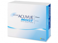 Kontaktní čočky Johnson and Johnson - 1 Day Acuvue Moist (180 čoček)