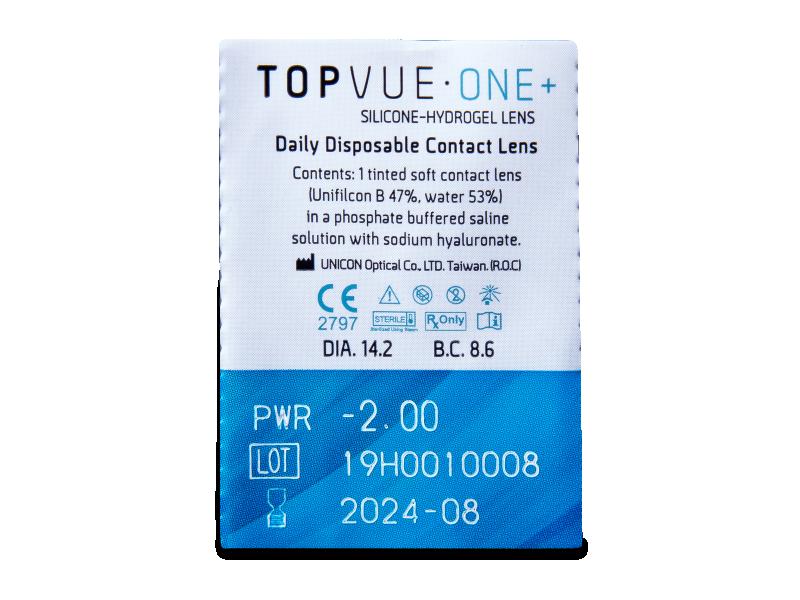 TopVue One+ (30 čoček) -
