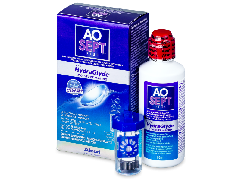 Roztok AO SEPT PLUS HydraGlyde 90 ml  - Čistící roztok