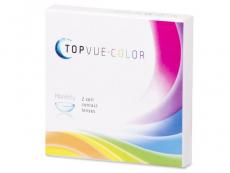 Barevné kontaktní čočky - TopVue Color - dioptrické (2čočky)