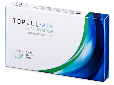 TopVue Air for Astigmatism (3 čočky)