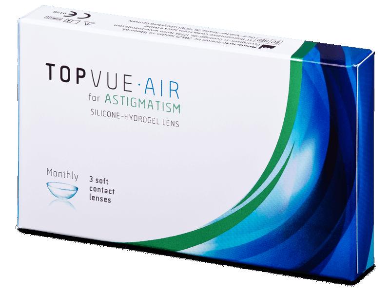 TopVue Air for Astigmatism (3čočky) -