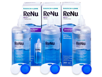 Roztok ReNu MPS Sensitive Eyes 3x360 ml