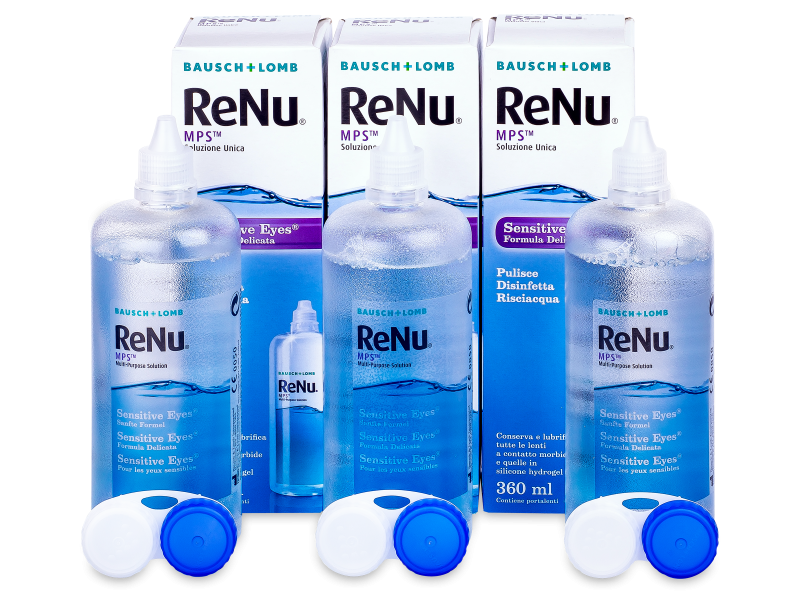 ReNu MPS Sensitive Eyes 3 x 360 ml