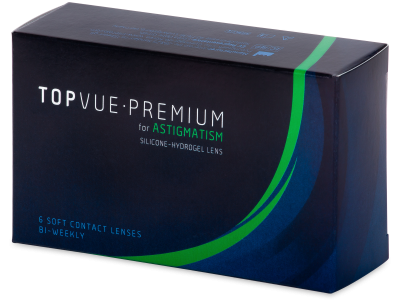TopVue Premium for Astigmatism (6čoček) -