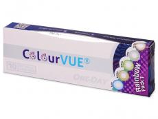 Barevné kontaktní čočky - ColourVue One Day TruBlends Rainbow - nedioptrické (10 čoček)
