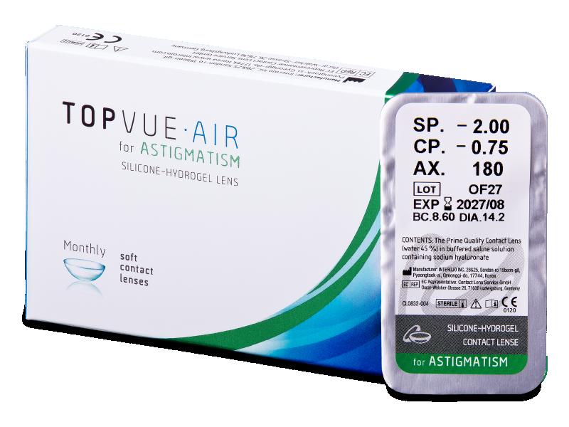 TopVue Air for Astigmatism (1čočka) -