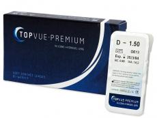 Čtrnáctidenní kontaktní čočky - TopVue Premium (1čočka)