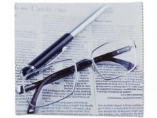Příslušenství - Čistící hadřík na brýle - noviny