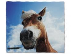 Příslušenství - Čistící hadřík na brýle - kůň
