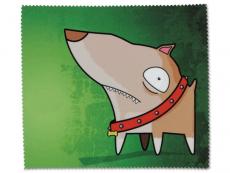 Příslušenství - Čistící hadřík na brýle - pes