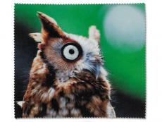 Příslušenství - Čistící hadřík na brýle - sova