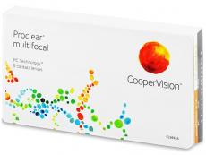 Multifokální kontaktní čočky - Proclear Multifocal XR (6 čoček)