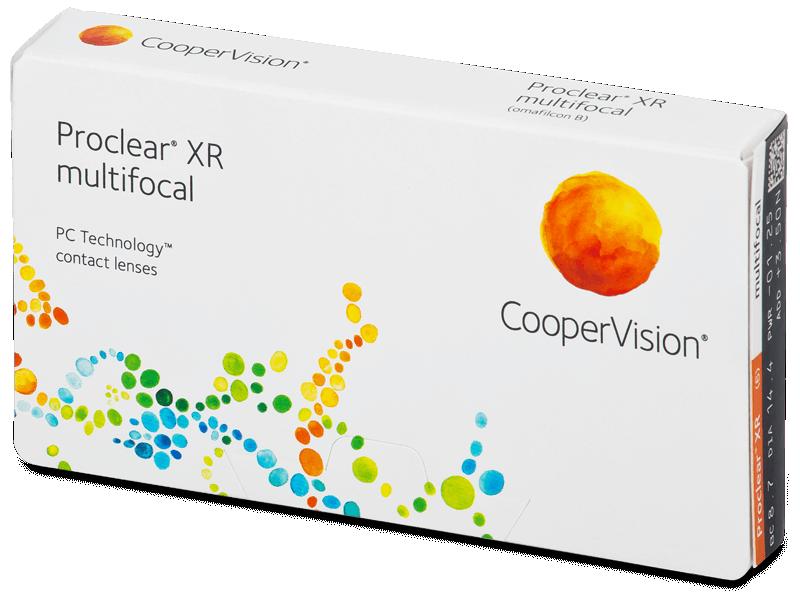 Proclear Multifocal XR (6 čoček) - Multifokální kontaktní čočky