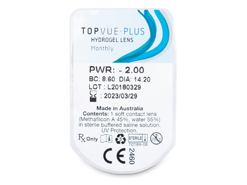 - TopVue Plus (6 čoček)