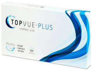 Kontaktní čočky TopVue Plus (6 čoček)