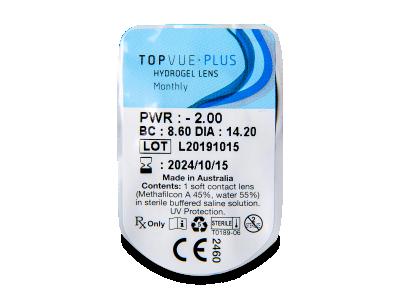 TopVue Plus (1 čočka) -