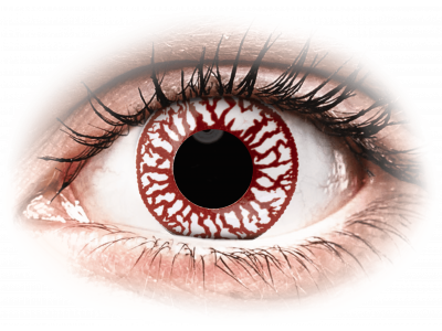 ColourVUE Crazy Lens - Blood Shot - nedioptrické jednodenní (2 čočky)