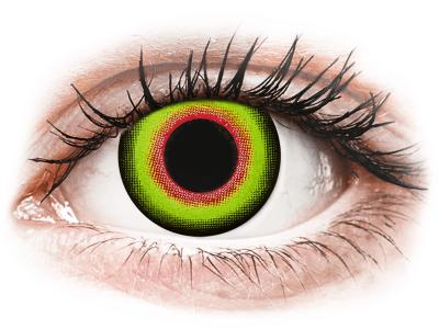 ColourVUE Crazy Lens - Mad Hatter - nedioptrické jednodenní (2 čočky)