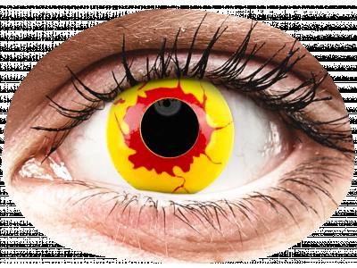 ColourVUE Crazy Lens - Reignfire - nedioptrické jednodenní (2 čočky)