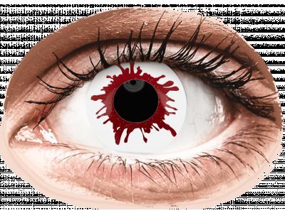 ColourVUE Crazy Lens - Wild Blood - nedioptrické jednodenní (2 čočky)