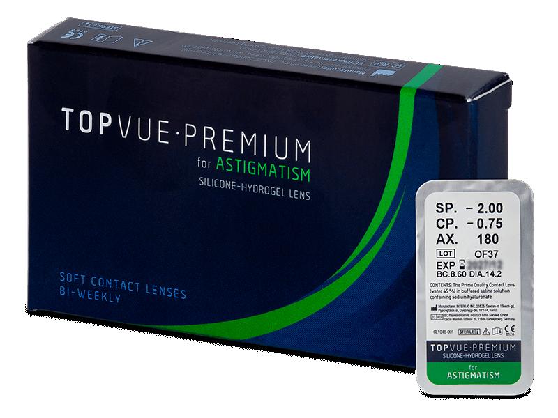 TopVue Premium for Astigmatism (1 čočka) -