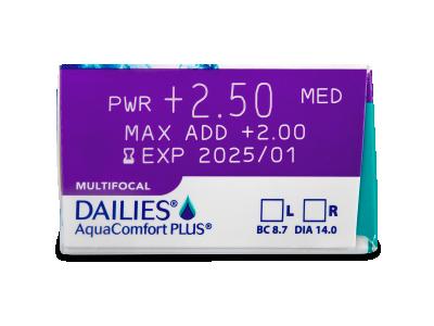 Dailies AquaComfort Plus Multifocal (90čoček) -