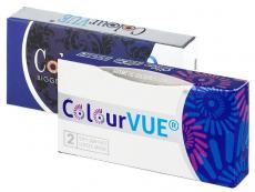 Barevné kontaktní čočky - ColourVUE - Fusion - dioptrické (2 čočky)