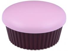 Kazety se zrcátkem - Kazetka se zrcátkem Muffin - růžová