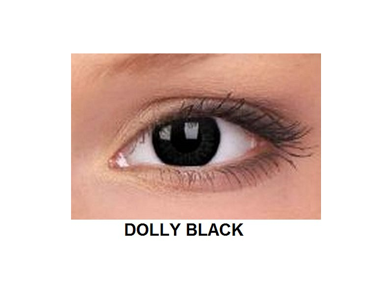 ColourVUE - BigEyes (2 čočky) - Dolly Black
