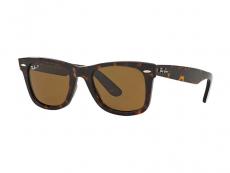 Čtvercové sluneční brýle - Ray-Ban Original Wayfarer RB2140 - 902/57