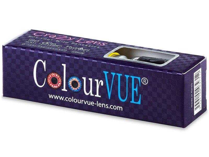 Crazy ColourVUE (2čočky) - Barevné kontaktní čočky