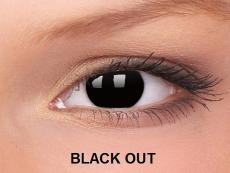 Crazy ColourVUE (2čočky) - Black Out